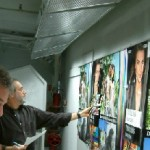 Illumination: Large format print viewing