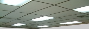 GTI GLL luminaire drop ceiling installation